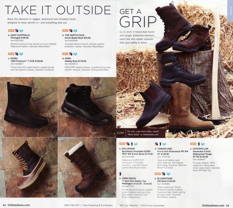 Online Shoes Catalog Mens Shoes and Boots